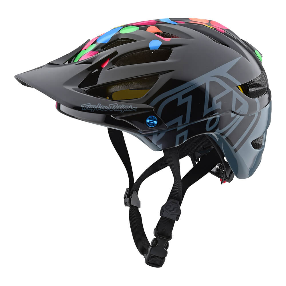 YOUTH A1 HELMET W/MIPS JELLY BEANS BLACK / GRAY