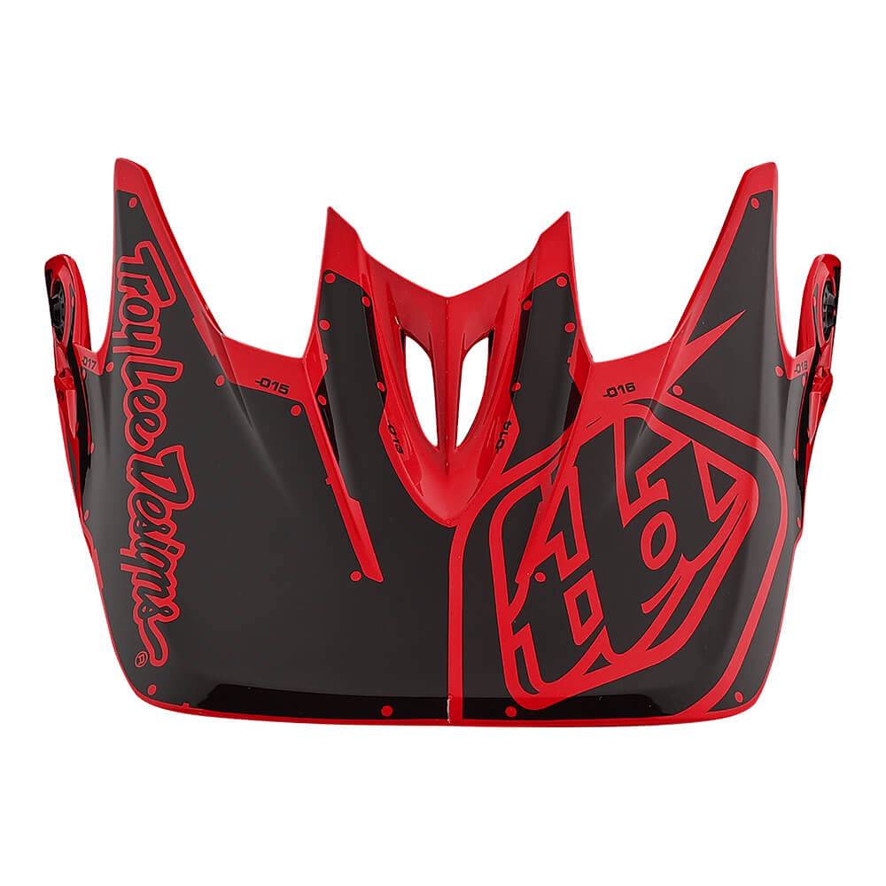 D3 VISOR FACTORY RED