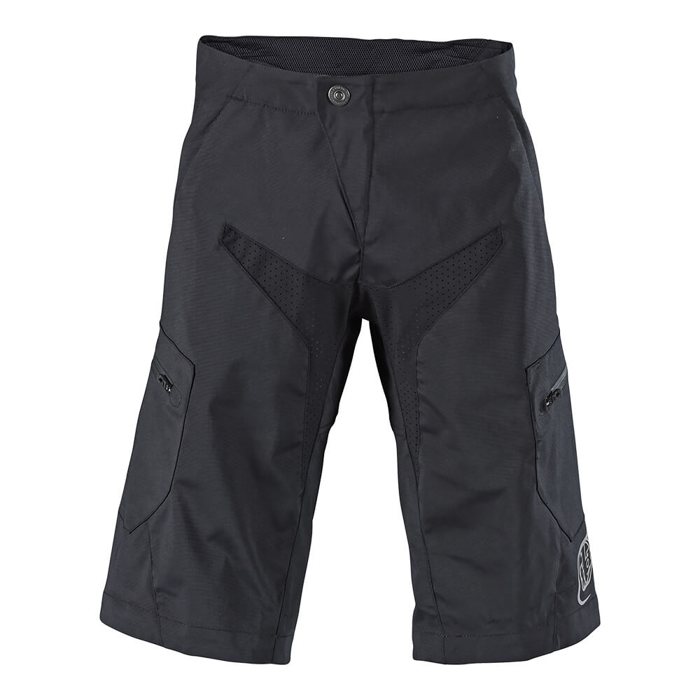 MOTO SHORT NO LINER SOLID BLACK