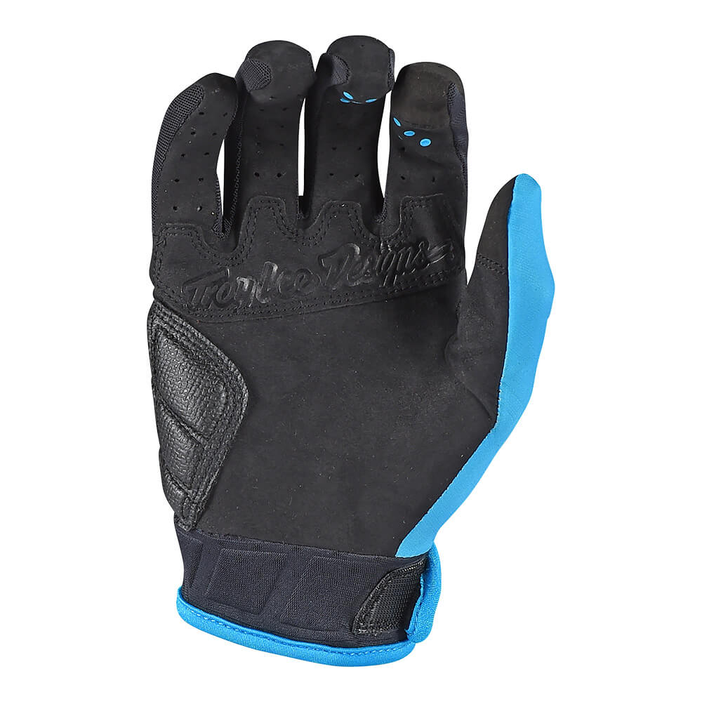 RUCKUS GLOVE SOLID BLUE
