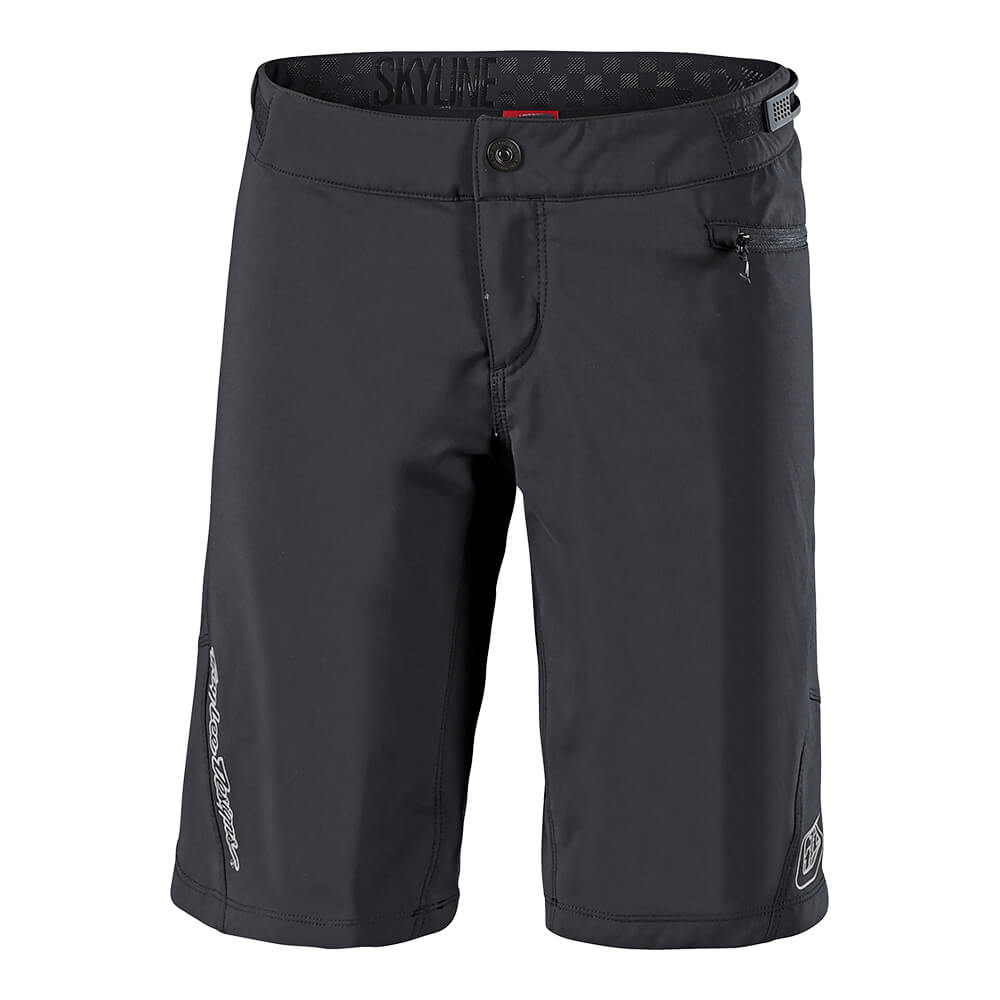 WOMENS SKYLINE SHORT SHELL SOLID BLACK