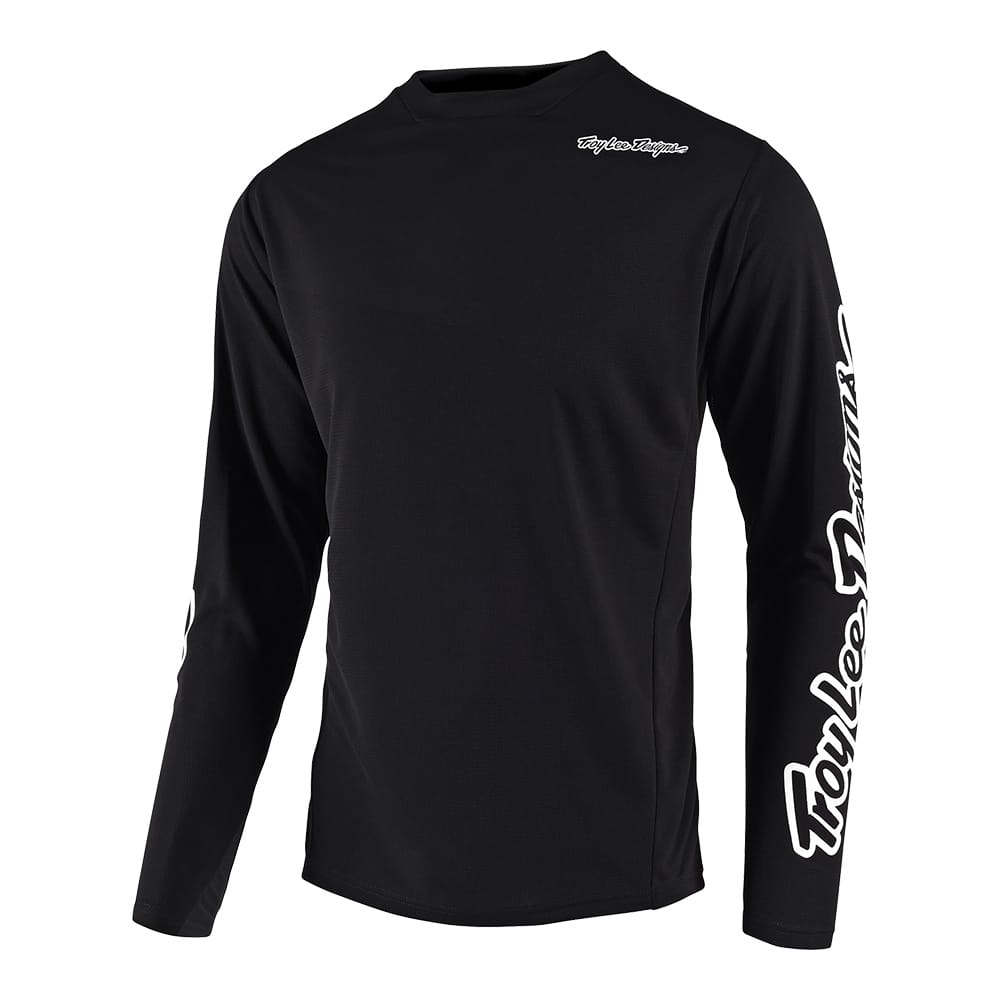 SPRINT JERSEY SOLID BLACK