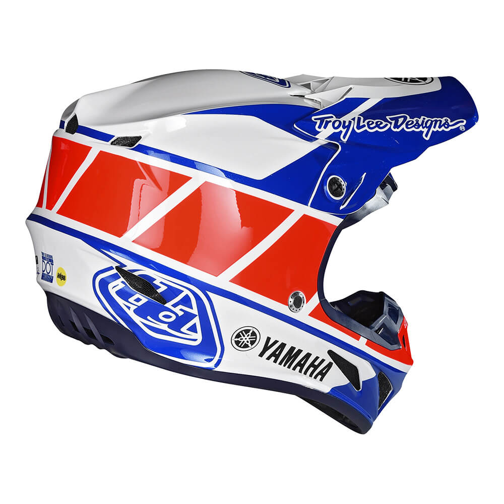 SE4 COMPOSITE HELMET W/MIPS Yamaha RS1 WHITE