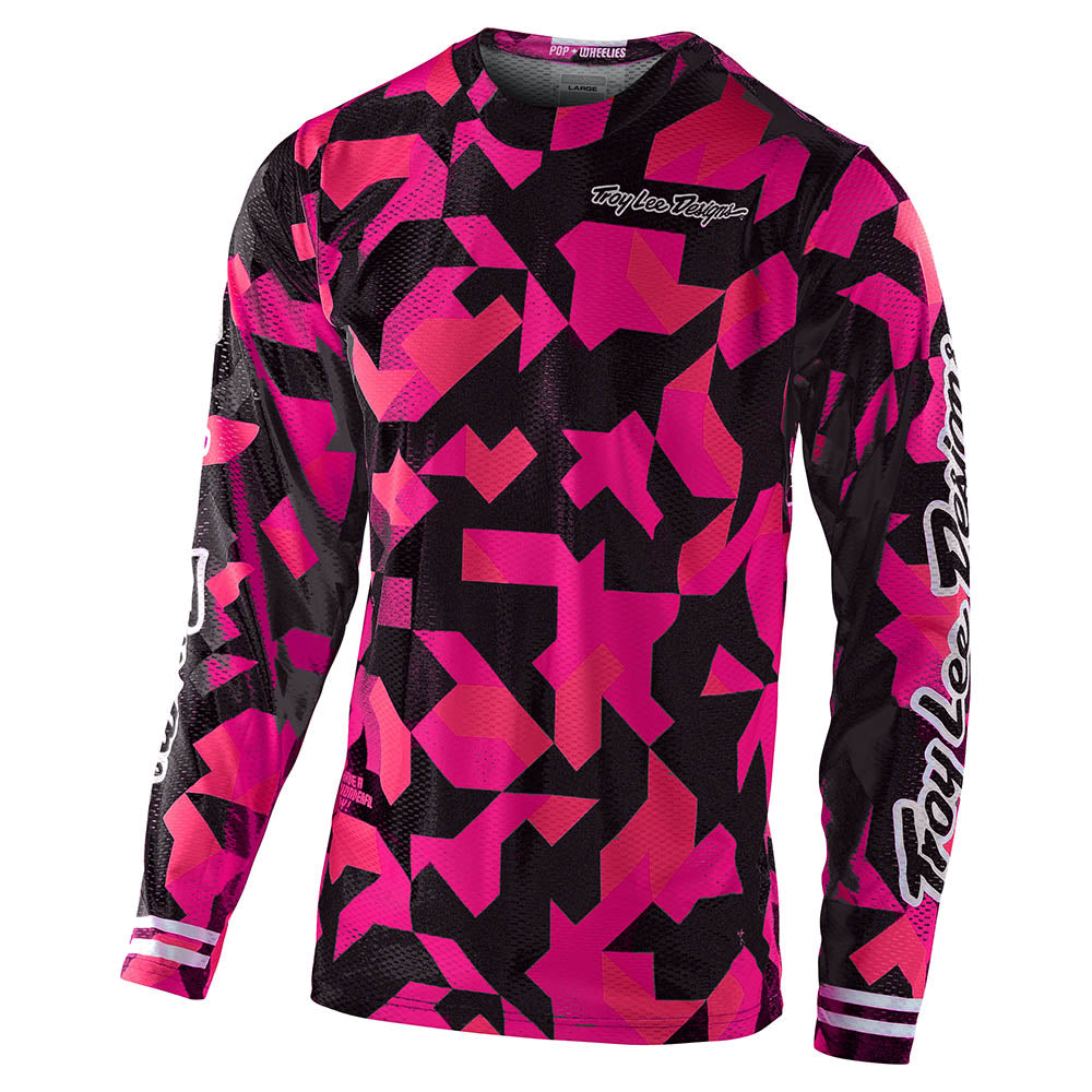 YOUTH GP AIR JERSEY CONFETTI PINK