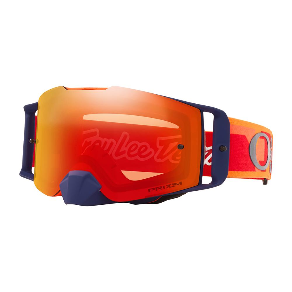 OAKLEY FRONT LINE MX GOGGLE CONFETTI ORANGE / RED