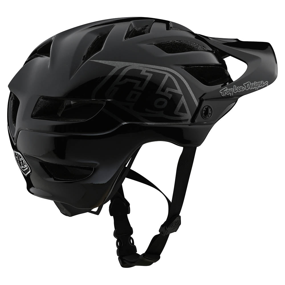 YOUTH A1 HELMET DRONE BLACK / SILVER