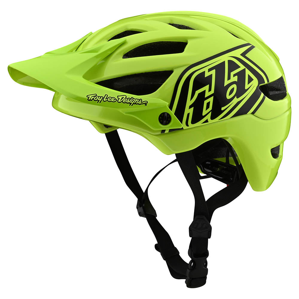 YOUTH A1 HELMET DRONE FLO YELLOW / BLACK