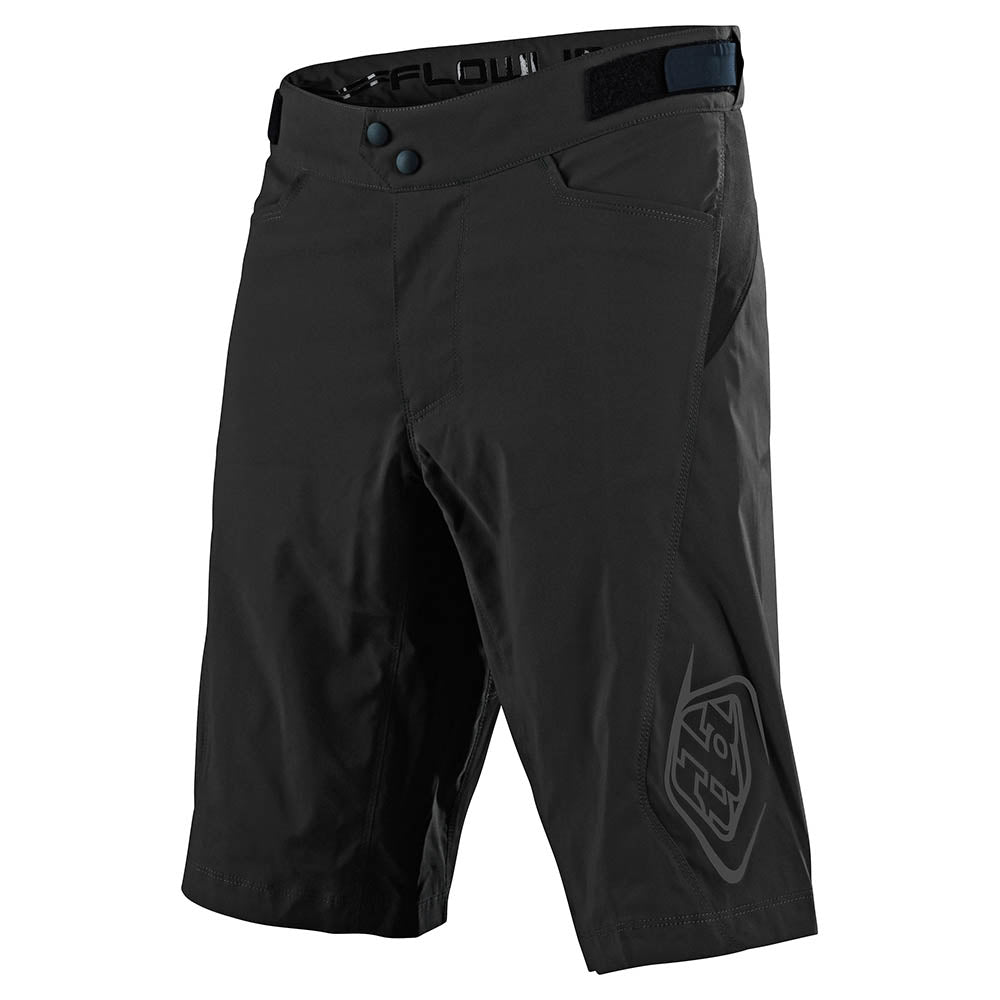 FLOWLINE SHORT NO LINER SOLID BLACK