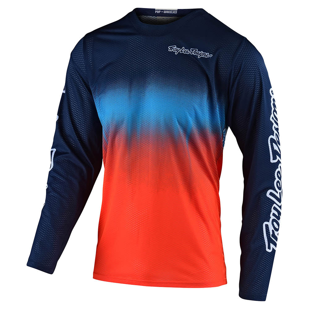 YOUTH GP JERSEY STAIN'D NAVY / ORANGE