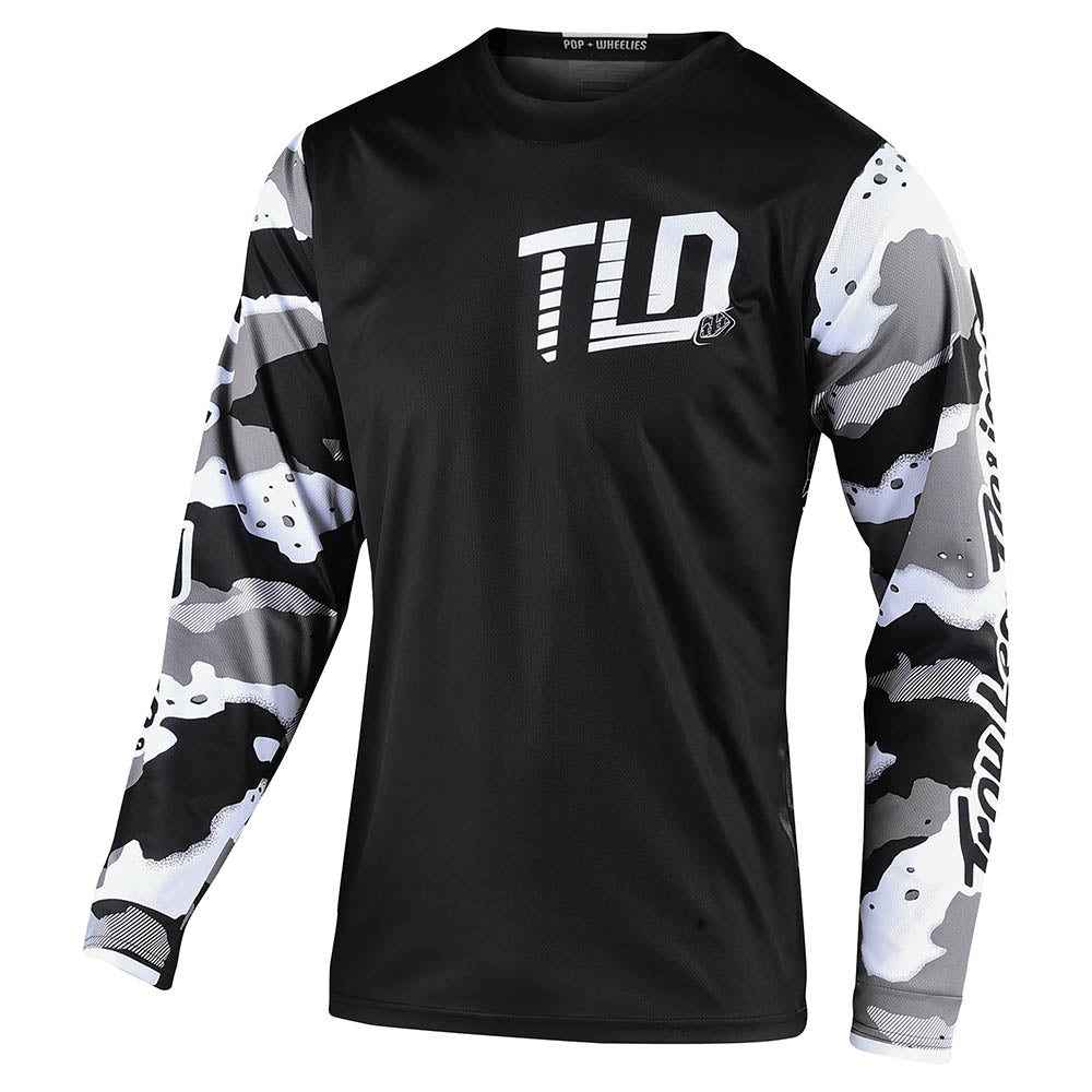 GP JERSEY CAMO WHITE / BLACK