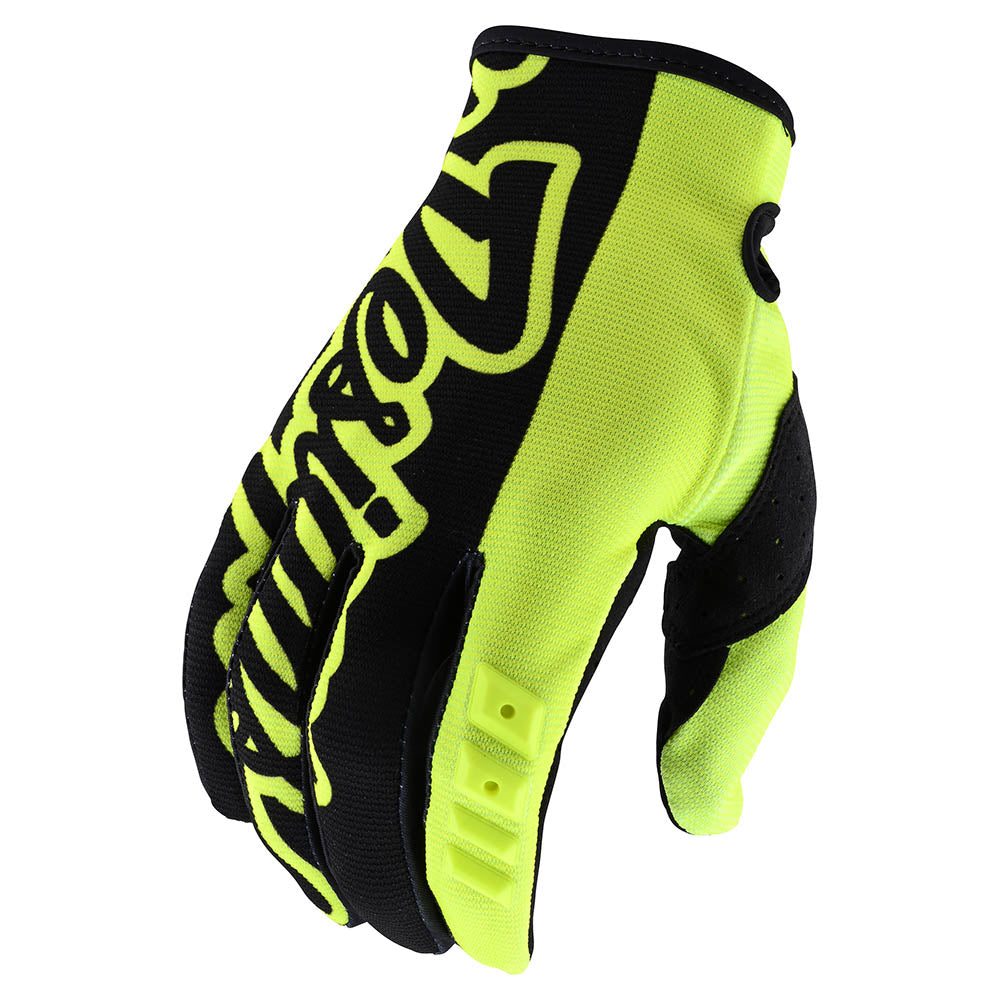 YOUTH GP GLOVE SOLID FLO YELLOW