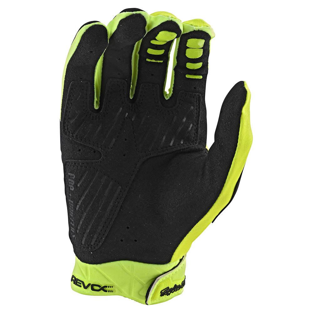 REVOX GLOVE SOLID FLO YELLOW