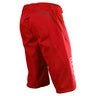 SPRINT SHORT NO LINER SOLID RED