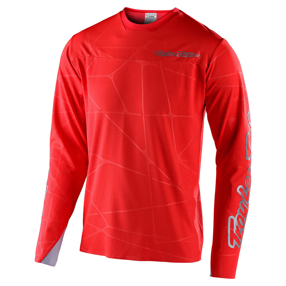 SPRINT ULTRA JERSEY PODIUM RED / SILVER