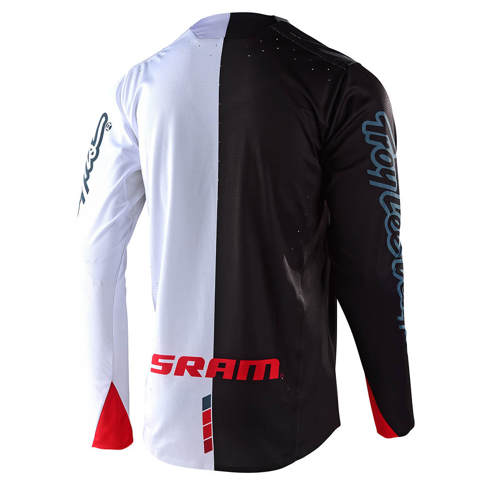 SPRINT ULTRA JERSEY TILT SRAM BLACK / WHITE