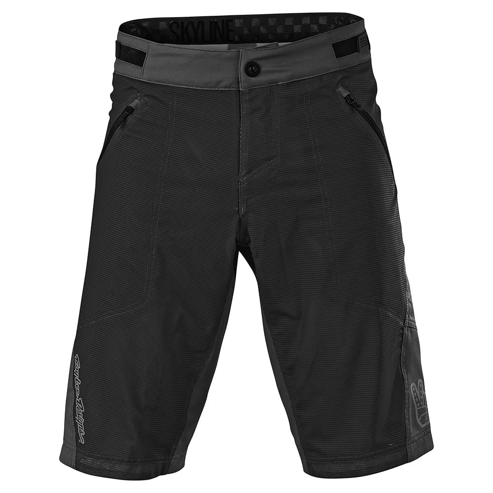 SKYLINE AIR SHORT NO LINER SOLID BLACK