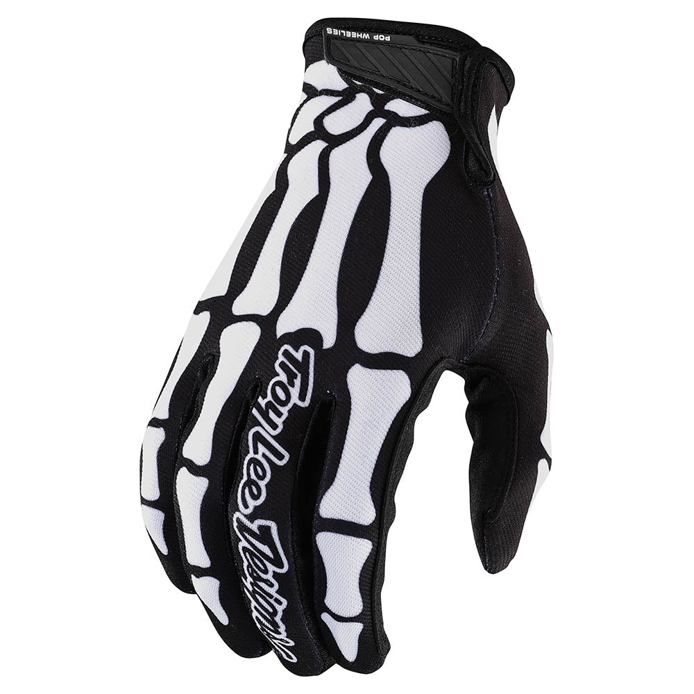 YOUTH AIR GLOVE SKULLY BLACK / WHITE