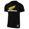 SHORT SLEEVE TEE TLD HONDA RETRO WING BLACK