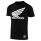 SHORT SLEEVE TEE TLD HONDA WING BLACK