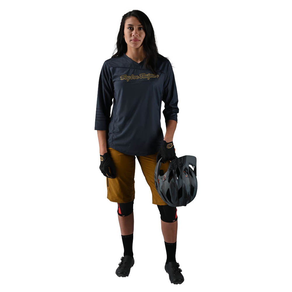 WMNS MISCHIEF JERSEY SOLID CHARCOAL