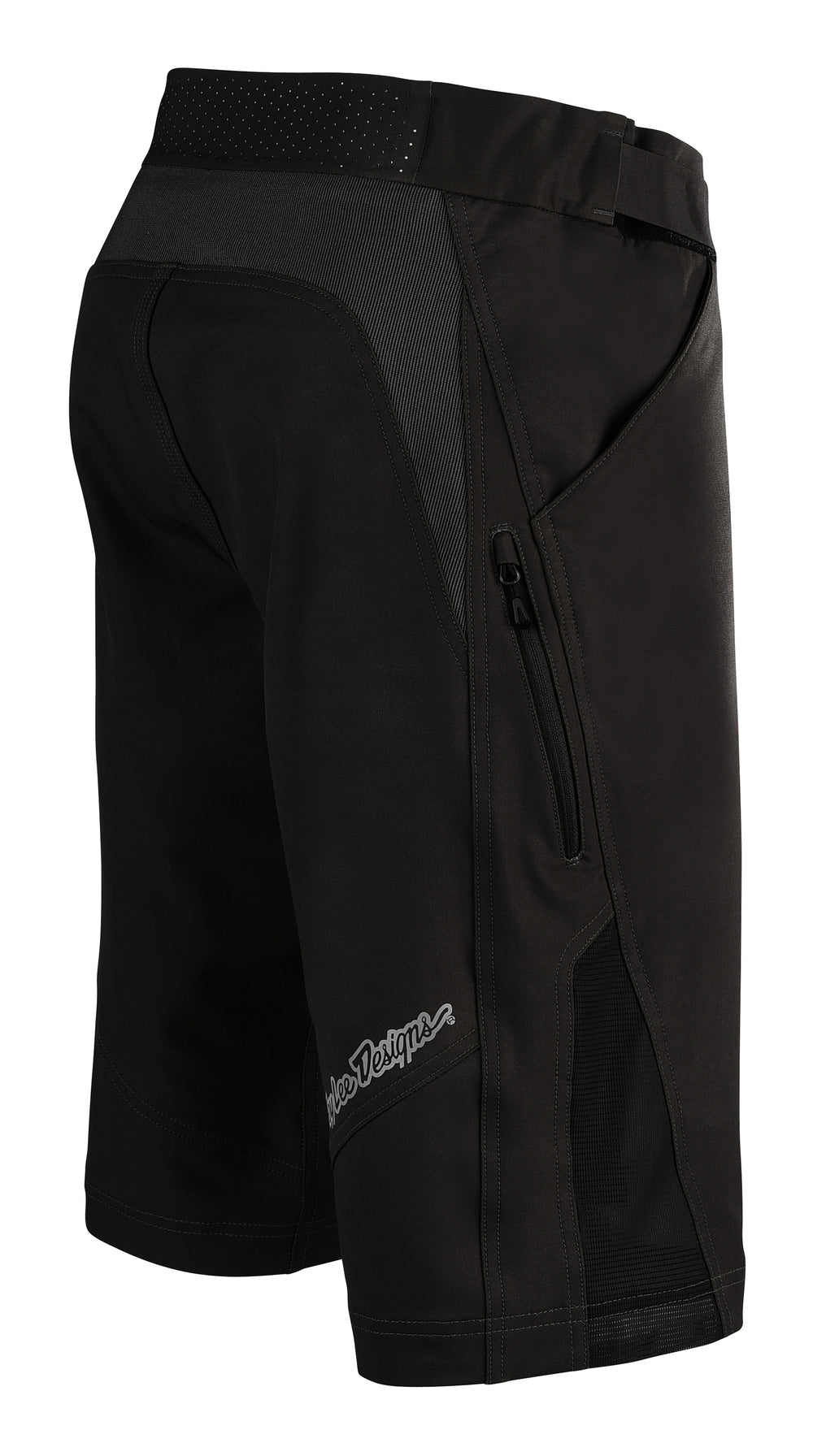 RUCKUS SHORT W/LINER SOLID BLACK