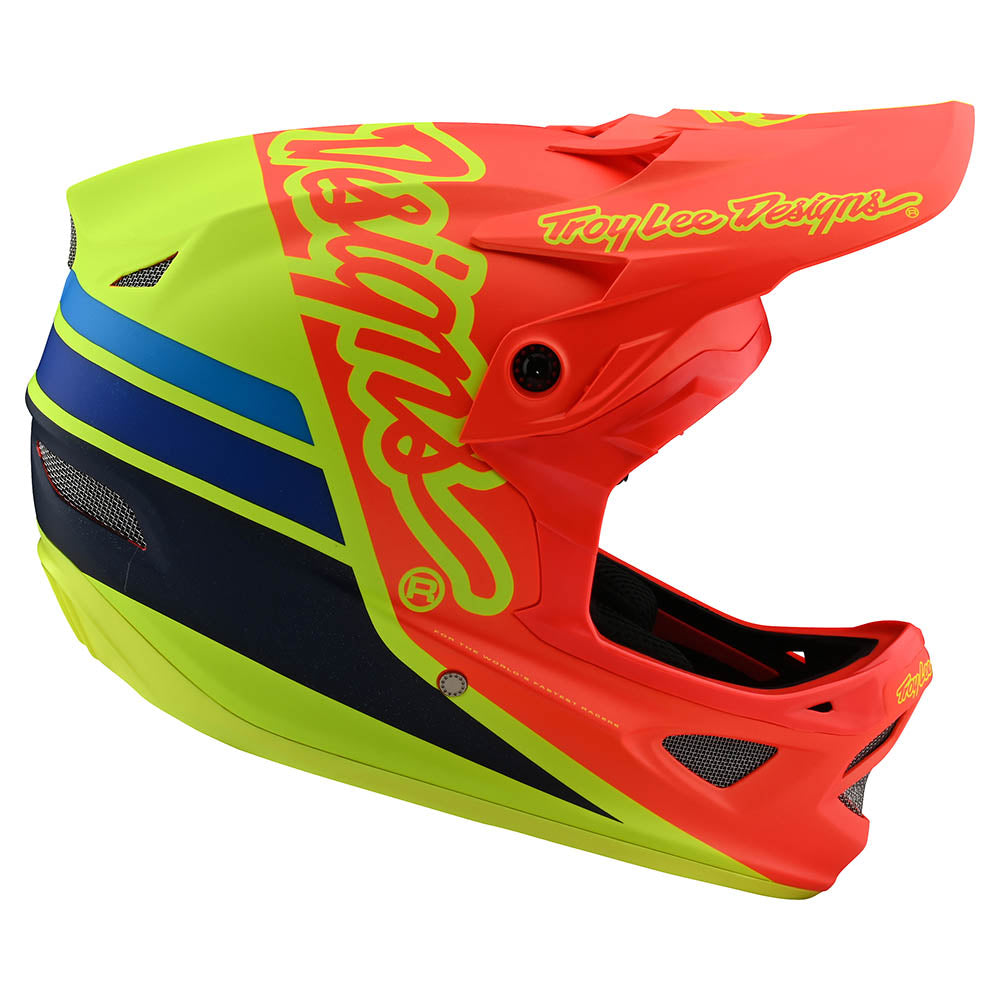 D3 FIBERLITE HELMET SILHOUETTE ORANGE / YELLOW