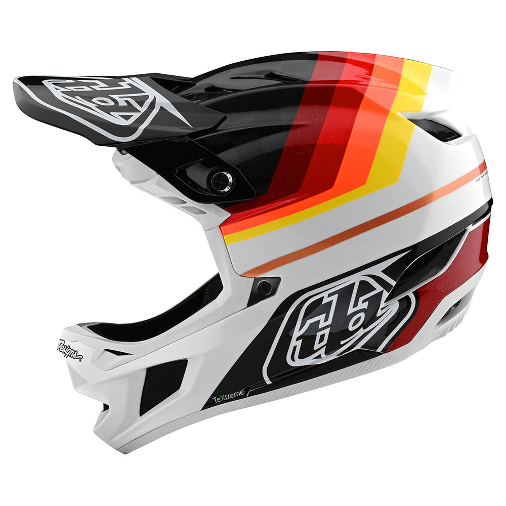 D4 CARBON HELMET W/MIPS MIRAGE BLACK / RED