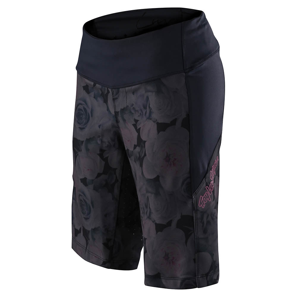 WMNS LUXE SHORT NO LINER FLORAL BLACK