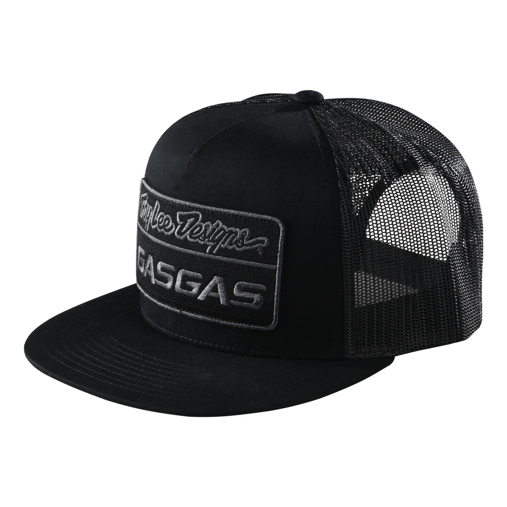 SNAPBACK HAT 2021 TLD GASGAS TEAM STOCK BLACK