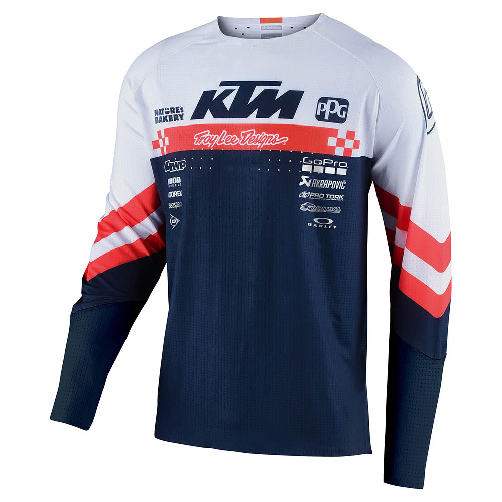 SE ULTRA JERSEY FACTORY TEAM WHITE / NAVY