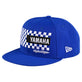 SNAPBACK HAT TLD YAMAHA CHECKERS BLUE