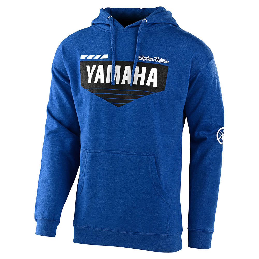 PULLOVER HOODIE TLD YAMAHA L4 ROYAL HEATHER