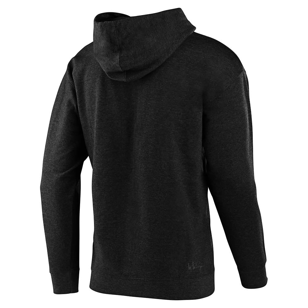 PULLOVER HOODIE TLD YAMAHA L4 CHARCOAL HEATHER