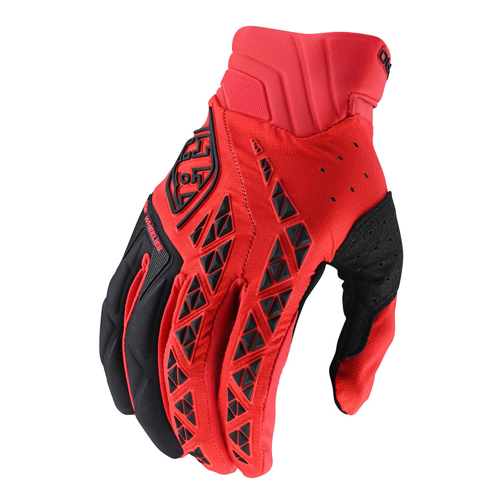 SE PRO GLOVE SOLID RED