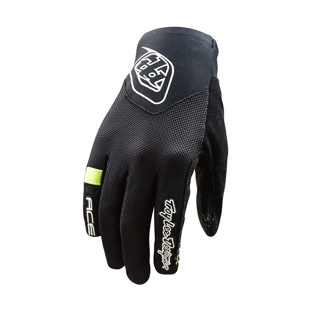 WOMENS ACE 2.0 GLOVE SOLID BLACK