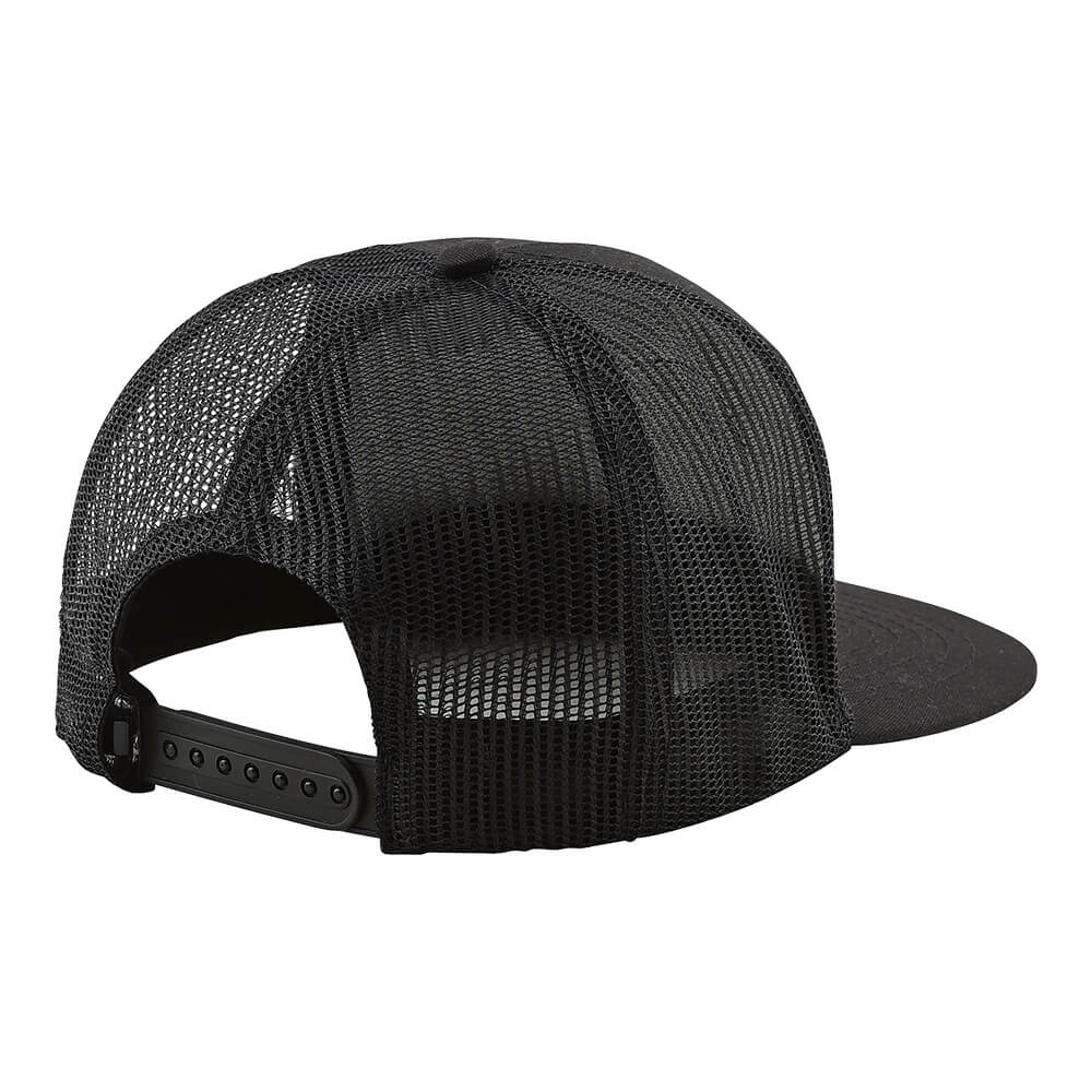 SNAPBACK HAT BEER HEAD BLACK