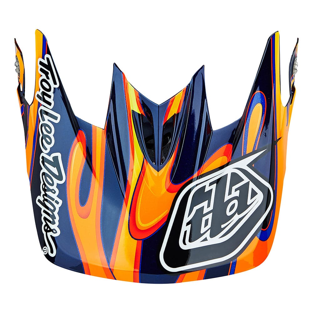 D3 VISOR SQUIRT BLACK / ORANGE