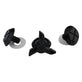 D4 VISOR SCREW SOLID BLACK