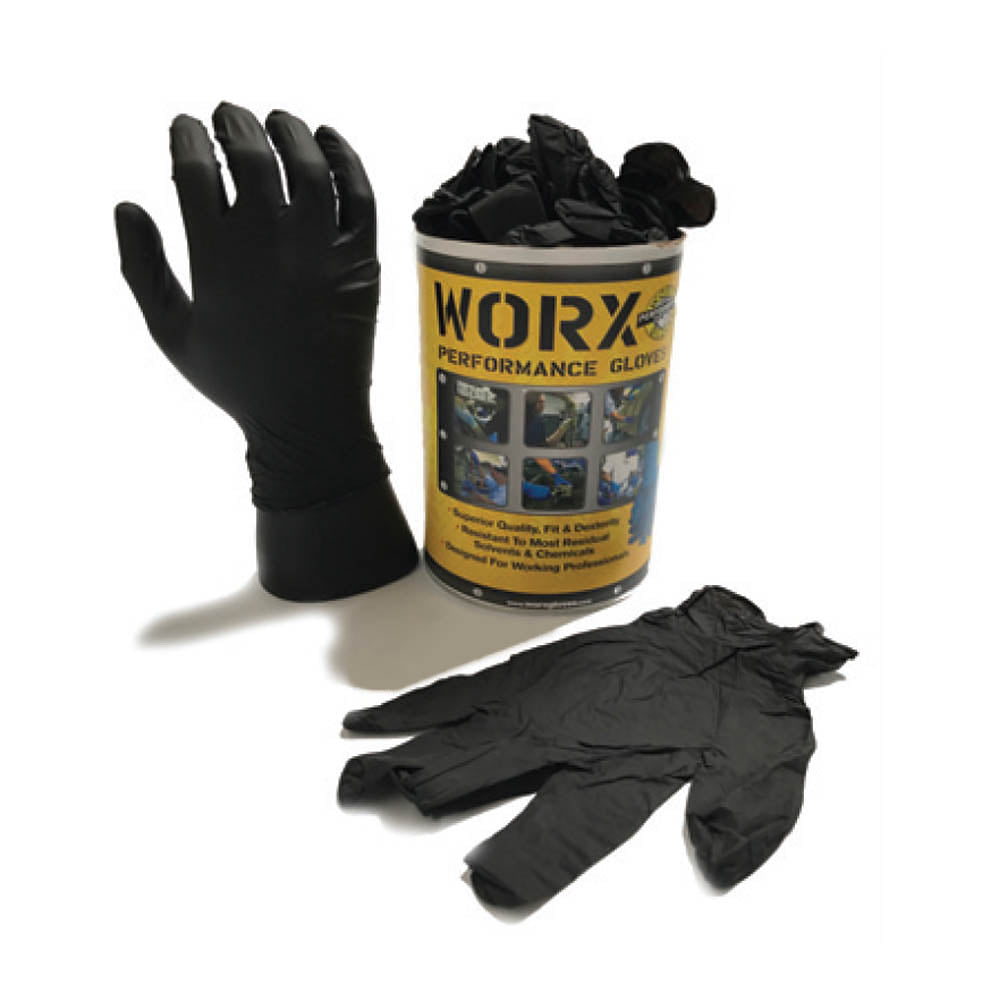 DISPOSABLE GLOVE SOLID BLACK