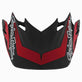 SE4 VISOR TLD POLARIS RZR RED