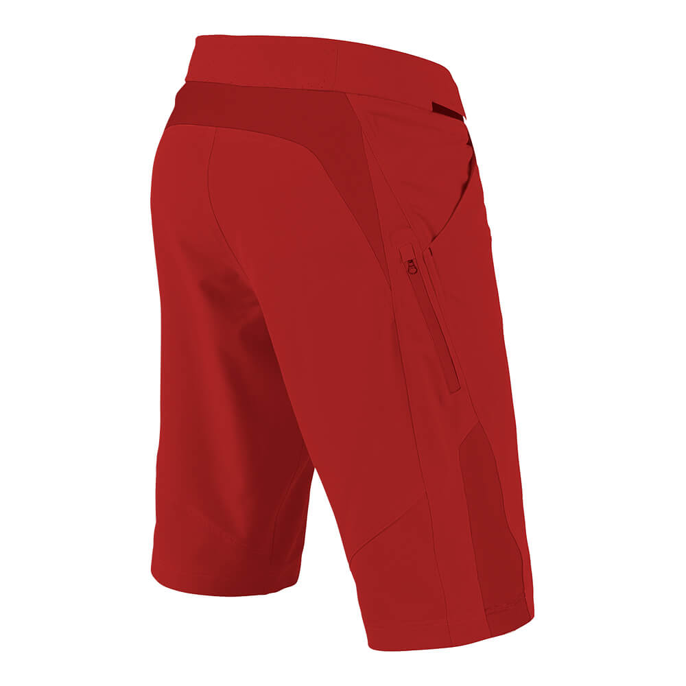 RUCKUS SHORT W/LINER SOLID RED