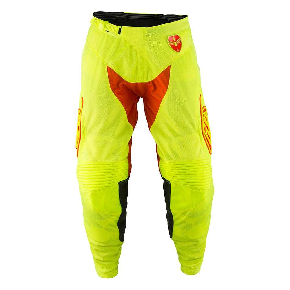 SE AIR PANT STARBURST FLO YELLOW / ORANGE
