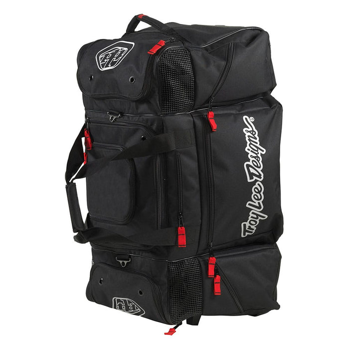 SE WHEELED GEAR BAG SOLID BLACK