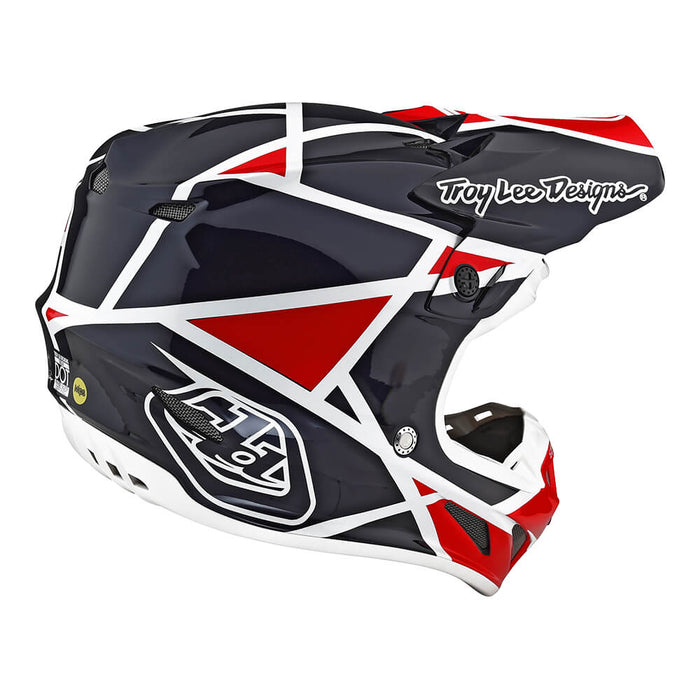 SE4 COMPOSITE HELMET W/MIPS METRIC RED / BLUE