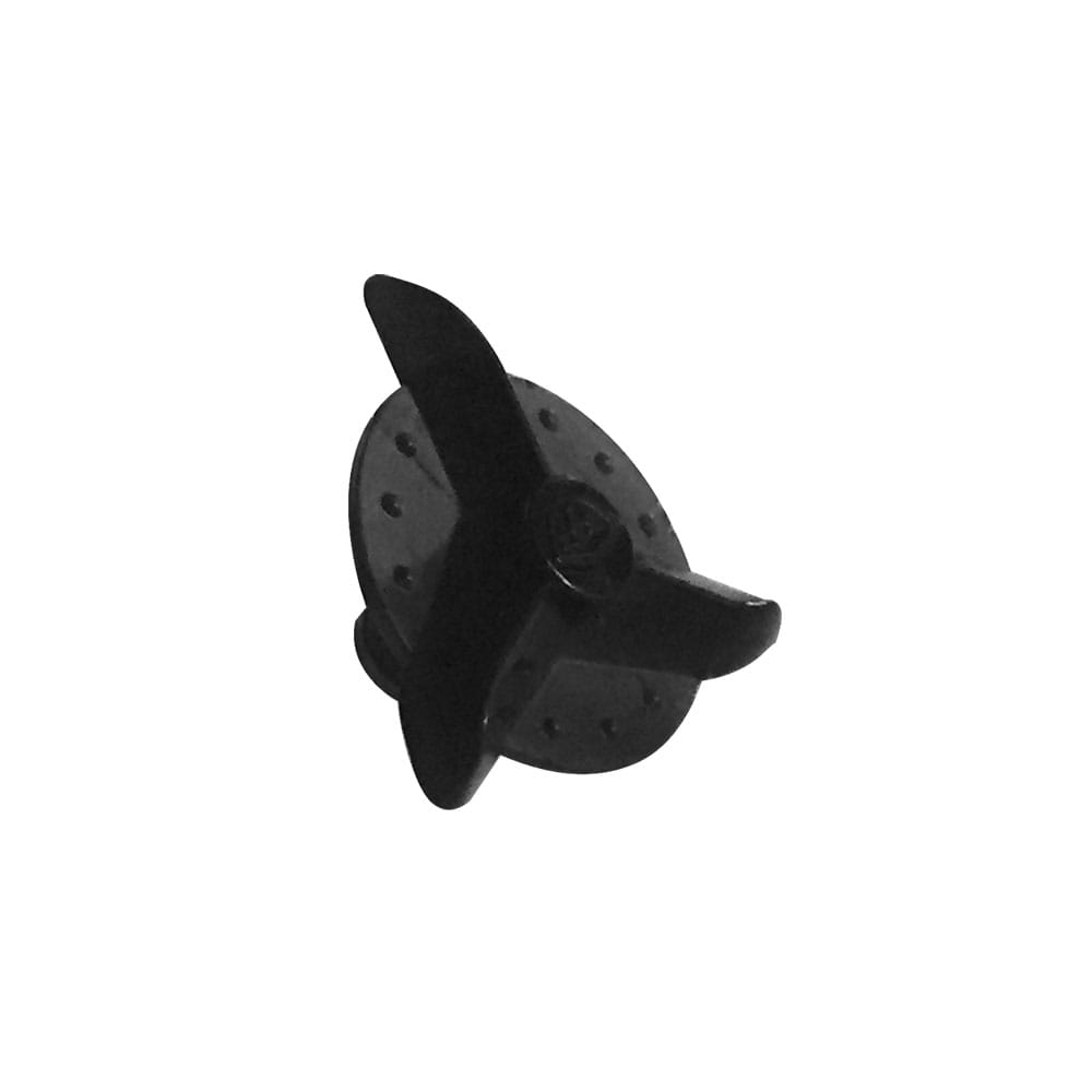 SE4 VISOR SCREW SOLID BLACK