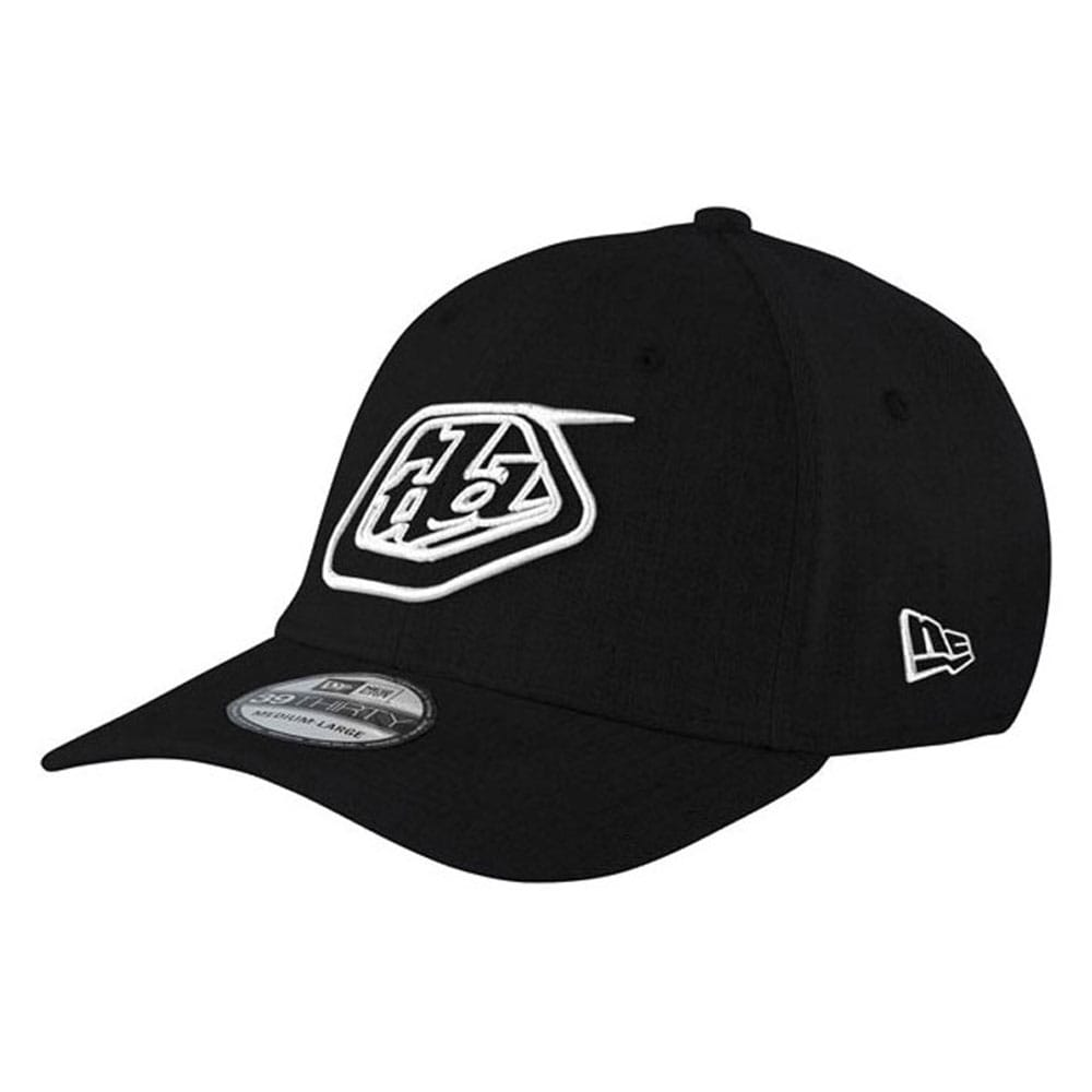 FITTED HAT SHIELD BLACK