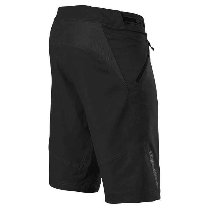 SKYLINE SHORT W/LINER SOLID BLACK