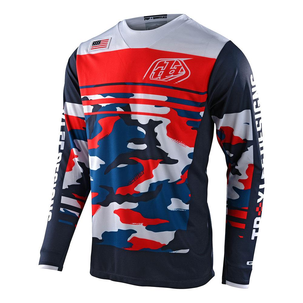 GP JERSEY FORMULA CAMO NAVY / RED