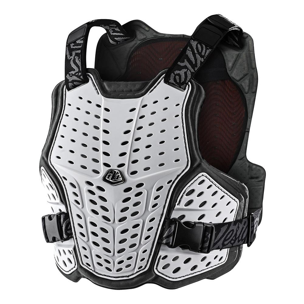 ROCKFIGHT CE FLEX CHEST PROTECTOR SOLID WHITE