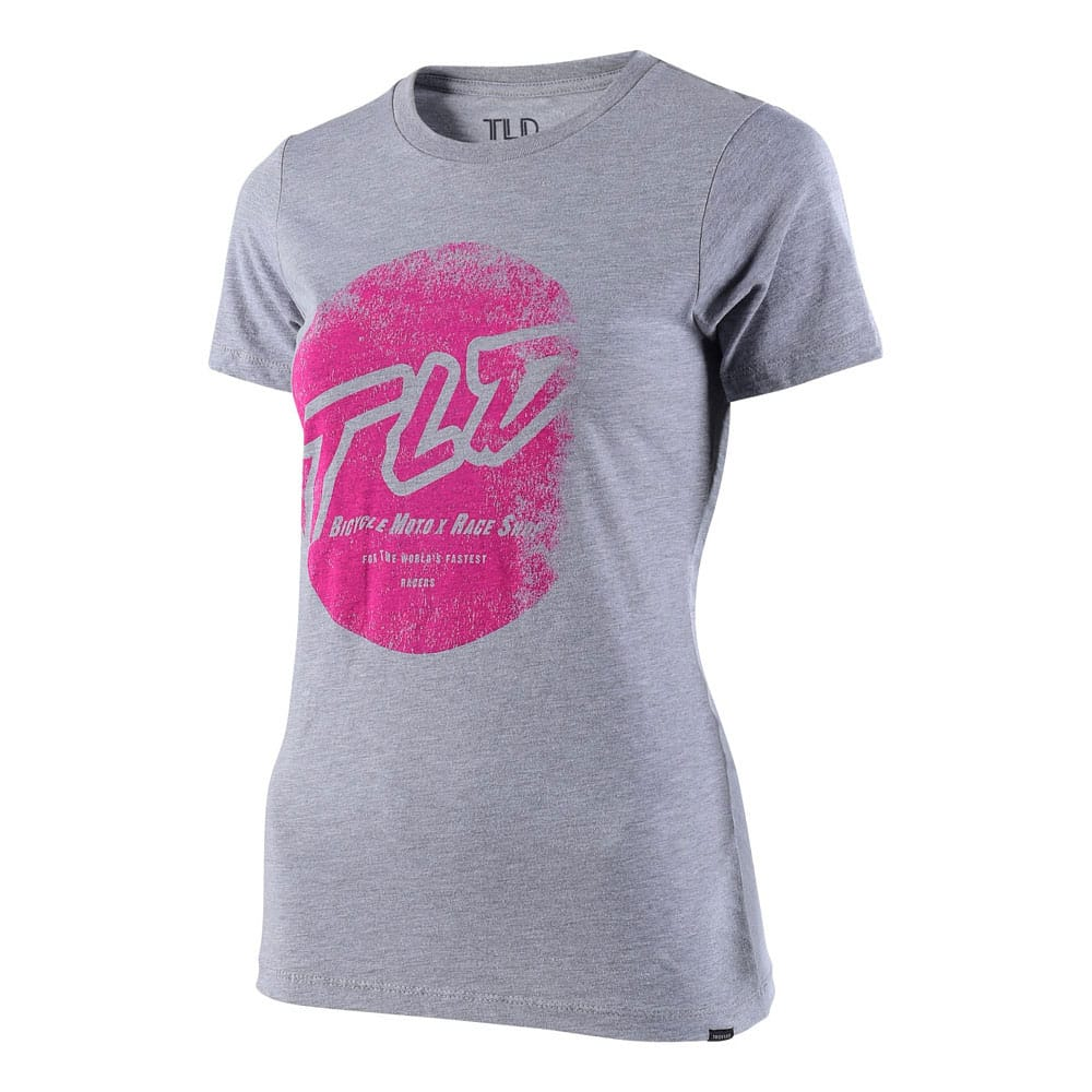 WOMENS SHORT SLEEVE STOMP GRAY